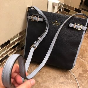 Navy Kate spade cross body